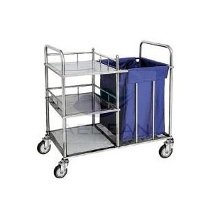 AG-SS010 With Four Castors With CE ISO Medical Dressing Trolley