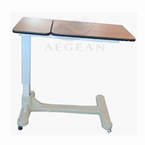 AG-OBT005 Wooden dinning board economic hospital medical bed table