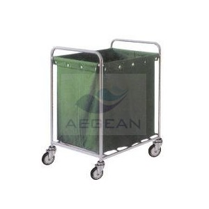 AG-SS013 With A Suspending Bag dirty linen trolley Large capacity