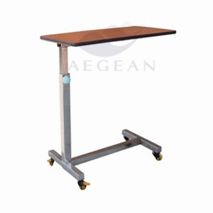 AG-OBT006 Durable hospital patient room wooden lap tray