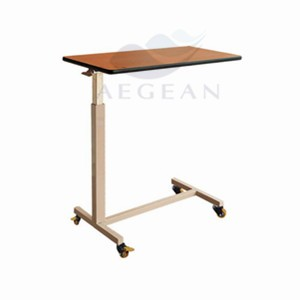 AG-OBT007 Wooden dinning board hospital durable over chair table