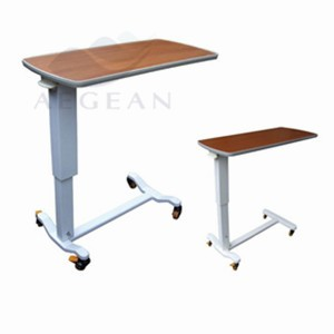 AG-OBT010 Economic height adjusted hospital durable overbed tables
