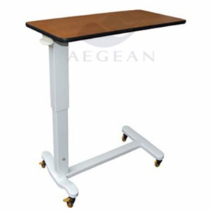 AG-OBT011 Hospital high quality best selling over bed food table