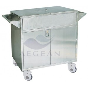 AG-SS068 large storage space delivery crash carts