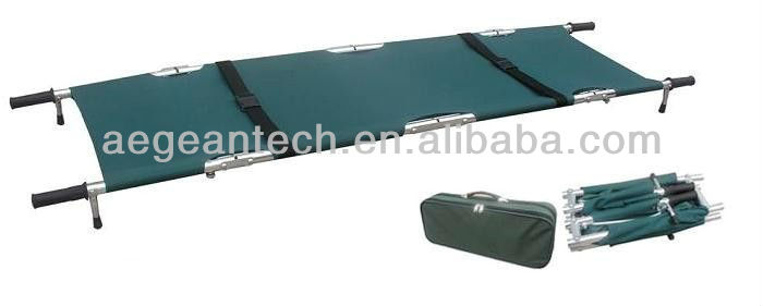 AG-2G3 With green color for patient ambulance transport folding stretcher