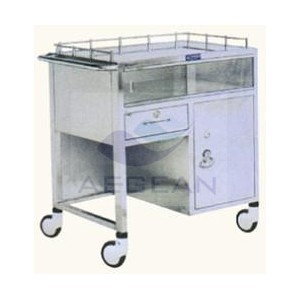 AG-SS043 Durable hospital with one door medical furniture