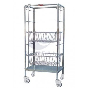 AG-SS072 transportation delivery cart with baskets