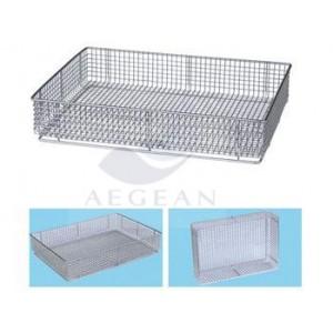 AG-SS073 304 ss sterilizing net basket