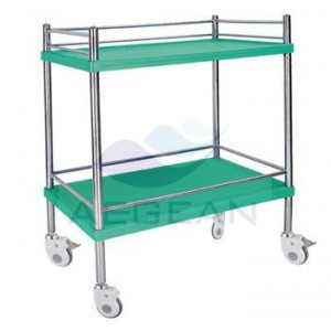 AG-SS053A colorful hospital treatment carriage trolley