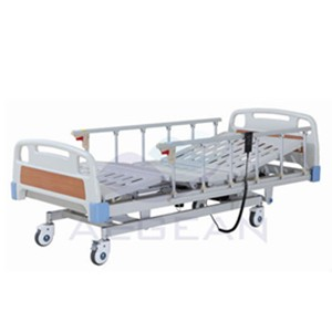 AG-BM104 Height Adjustable Hospital Electric Motorized ICU Hospital Bed