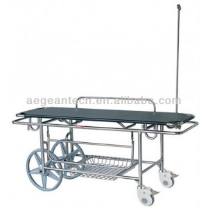 AG-HS016 With iv pole hospital cheap patient transfer stretcher