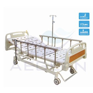 AG-BM107 CE ISO with al-alloy handrails hospital patient bed sales
