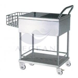 AG-SS082 easy clean san diego trolley with wheels