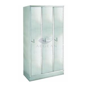 AG-SS002 3 doors locker metal wardrobe