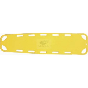 AG-2B7G CE & ISO approved plastic scoop stretcher
