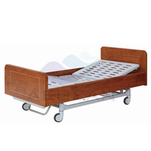 AG-BM203 Wooden frame hospital top quality emergency bed