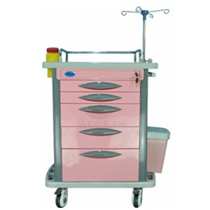 AG-ET007B4 Luxurious high-strength movable  hospital cart
