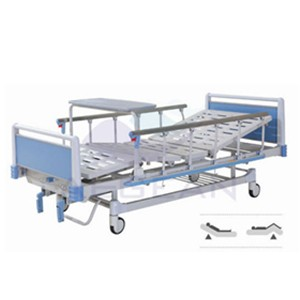 AG-BYS115 CE ISO 2-crank adjustable hospitals beds