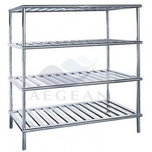 AG-SS088 Stainless Steel rubbermaid medical Goods Rack