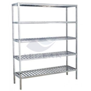 AG-SS089 Stainless Steel Goods Rack with Four shelves