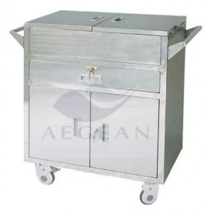 AG-ET021 CE&ISO durable hot sales medical care trolley