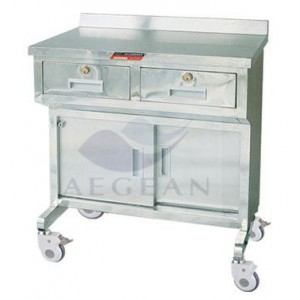 AG-AT023 stainless steel Anesthesia Instrument Cart