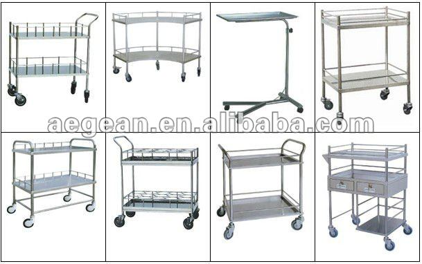 AG-MK004 with checking lamps easy clean ss checking table
