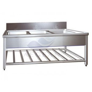 AG-WAS001 Top quality hospital metal cleaning serving cart
