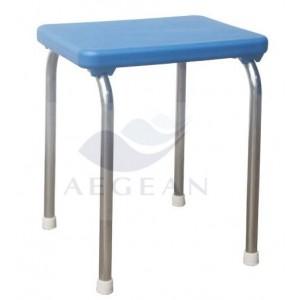 Best sell AG-FS007 hot sale blue plastic hospital stool