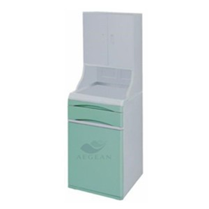 AG-BC021 Top quality! High-quality ABS medical bedside cupboard