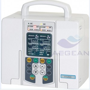 Hot sale!!! AG-XB-Y1200 Double-Channel Hospital gemstar infusion pump